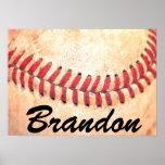 Custom Baseball Poster