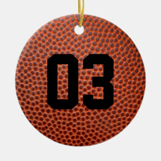 Custom Basketball / Football Leather Skin Ornament