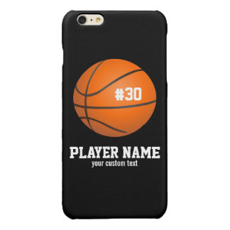 Custom Basketball Player & Team Name Jersey # Year iPhone 6 Plus Case