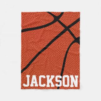 CUSTOM Basketball Skin Fleece Blanket