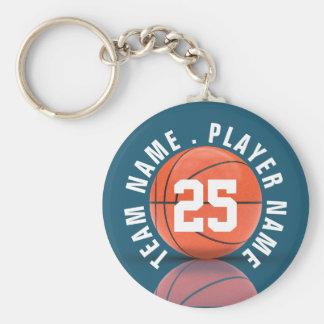 Custom Basketball Team Key Ring