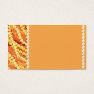 Custom Beaded Accessories Business Card Design