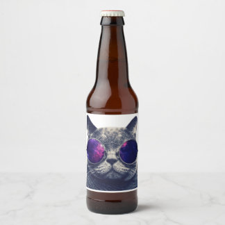 "Custom Beer Bottle Label (4"" x 3.5"")"