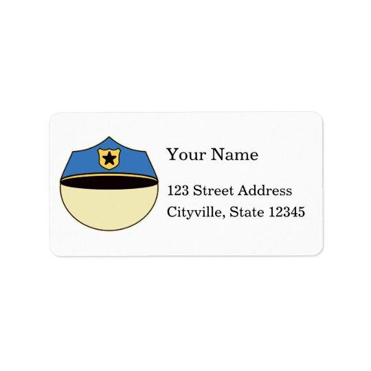 Custom Best Cop Ever Address Label
