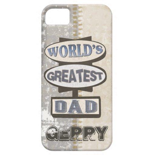 Custom Best Dad Case-Mate iPhone 5 Case