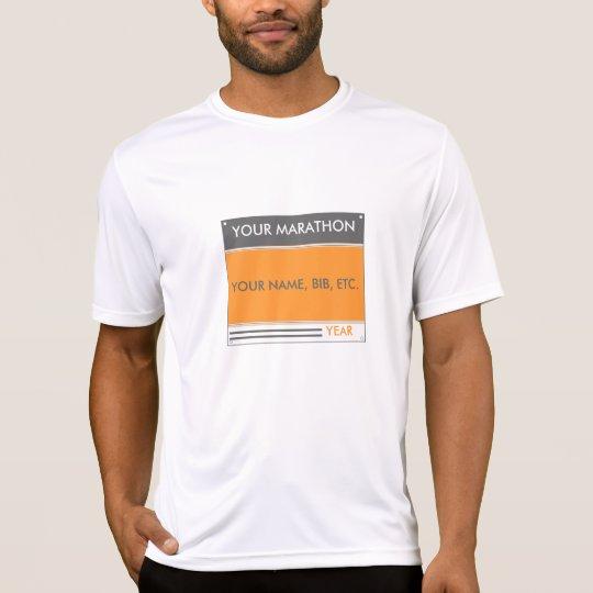 Custom Bib Number T-Shirt