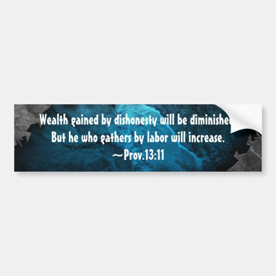 Custom Bible Verse Christian Bumper Sticker Decal