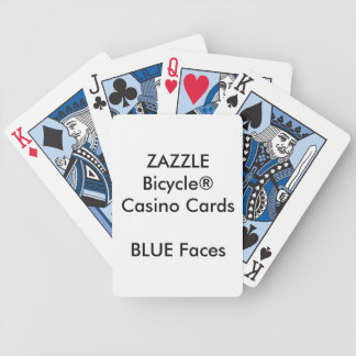 Custom Bicycle® Casino Playing Cards BLUE FACES