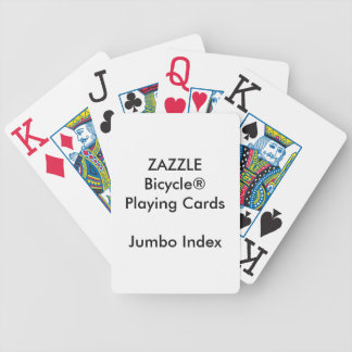 Custom Bicycle® Jumbo Index Playing Cards