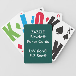 Custom Bicycle® Poker Playing Cards LoVision®