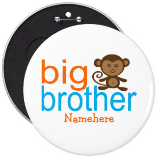 Custom Big Brother Monkey Buttons