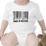 Custom Birthday Made In Vachina Baby Creeper