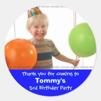 Custom Birthday sticker My little boy s birthday