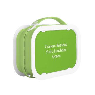 Custom Birthday Yubo Lunchbox