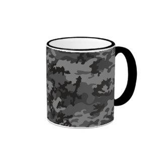 Custom Black Camo Glass Mug
