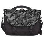 Custom Black Camo Laptop Bag