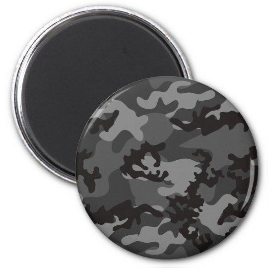 Custom Black Camo Magnet