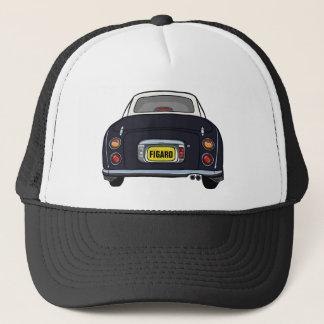Custom Black Nissan Figaro Trucker Cap
