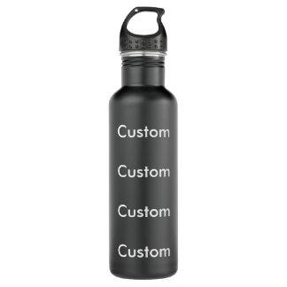 Custom BLACK Stainless Steel 24oz Water Bottle