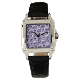 Custom Black Vintage Watch Rosa Viola