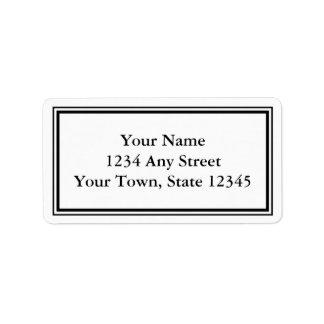 envelope address labels envelope mailing shipping label templates zazzle. Black Bedroom Furniture Sets. Home Design Ideas