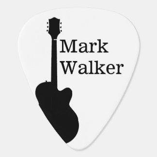 custom black&white guitar picks for the guitarist plectrum