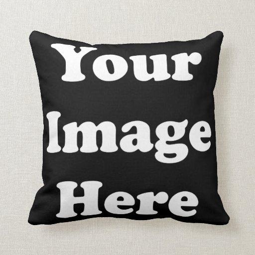 Custom Blank Template Throw Pillows
