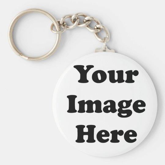Custom Blank Template Key Ring
