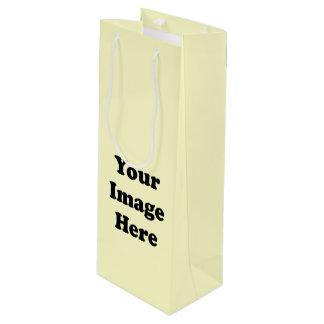 Custom Blank Template Wine Bottle Bag