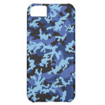 Custom Blue Camo iPhone 5 Case-Mate Barely There