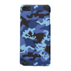Custom Blue Camo iPod Touch Case