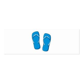 Custom Blue Flip Flops Sandals Mugs Bags Buttons Business Card
