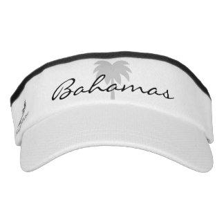 Custom boat captain hats | palm tree sun visor cap