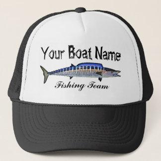 Custom Boat Name Wahoo trucker hat
