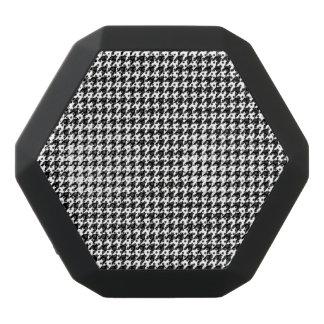 Custom Boombot REX, Black Houndstooth Black Bluetooth Speaker