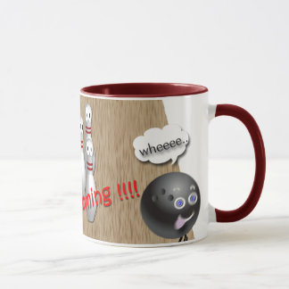 Custom Bowling mug gifts