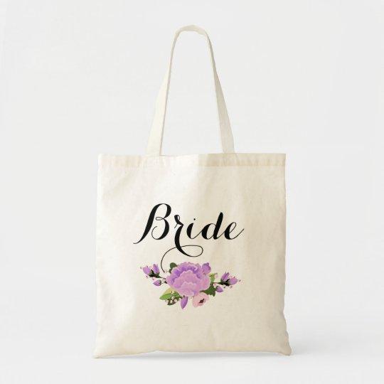 Custom Bride Budget Tote Bag
