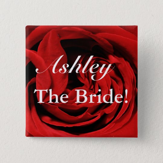 Custom Bride Button