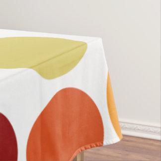 Custom Bright Dots Pattern Tablecloth