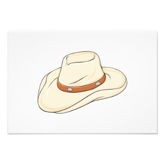 Custom Brown Bolo Cowboy Hat Playing Cards Pillows Photograph
