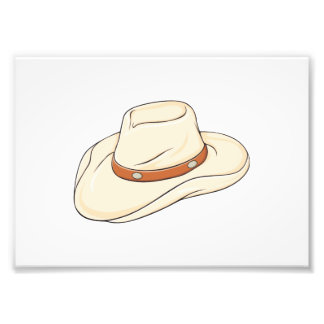 Custom Brown Bolo Cowboy Hat Playing Cards Pillows Photo Print