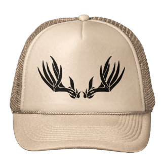 Custom Buck Antler Mesh Hat