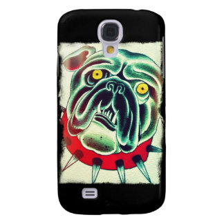 custom bulldog design galaxy s4 case