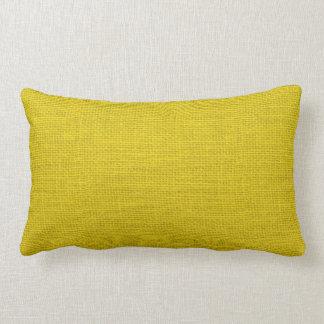 Custom Burlap Pillow for Home or Office Décor