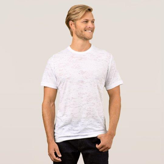Men's Canvas Fitted Burnout T-Shirt, Vintage White