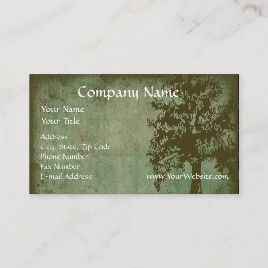 Custom business card design online green eco tree business card custom business card design online green eco tree business card reheart Images