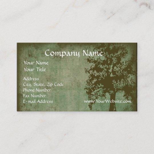 Custom business card design online green eco tree business card custom business card design online green eco tree business card reheart Gallery