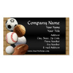 Custom Business Card, Design Online Sports Theme