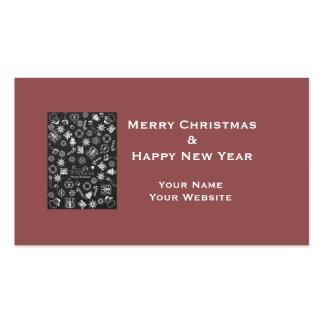 Custom Business Cards, Name Website, Black White Pack Of Standard Business Cards