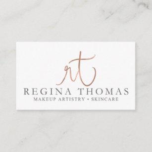 Skincare business office supplies stationery zazzle custom business cards regina thomas business card reheart Choice Image